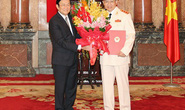 Thứ trưởng Tô Lâm được thăng hàm Thượng tướng