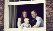 Hoàng tử bé George đáng yêu trong ảnh gia đình