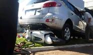 Xe điên tông liên hoàn xe máy