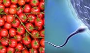 Cà chua làm tăng 70% số lượng tinh trùng