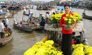 Ngắm chợ nổi vào Xuân