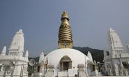 Cận cảnh Đại Bảo tháp dòng tu Kim Cương Thừa đầu tiên tại Việt Nam