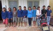 Hỗn chiến, đem theo 12 dao Thái Lan để xử đối phương