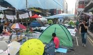 """Người biểu tình Hồng Kông kêu gọi tạo """"quảng trường dù"""""""