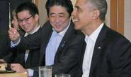 Ông Obama không được phép gọi món tại nhà hàng Nhật