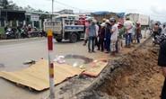 Một học sinh bị xe tải cán chết trên đường đi học