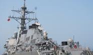 Tàu khu trục Hạm đội 7 Mỹ đến Việt Nam
