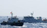 Tàu Trung Quốc dàn hàng ngang chặn hướng đi tàu Việt Nam