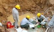 Vỡ đường ống nước sông Đà lần 9, 70.000 hộ dân mất nước