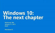 Microsoft tiết lộ tính năng mới của Windows 10