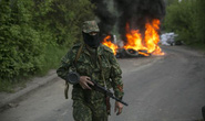 Quân đội Ukraine tấn công lực lượng chống đối ở miền Đông