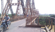 Gần 298 tỉ đồng sửa chữa cầu Long Biên