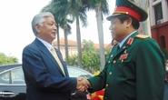 Bộ trưởng Quốc phòng Việt-Nhật bàn về hòa bình ở Biển Đông