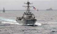 Tàu Trung Quốc hẹn gặp lại tàu Mỹ ở biển Đông