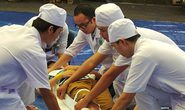 Bệnh viện Nhi Đồng 2 diễn tập cấp cứu thảm họa