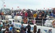 Gần 1.000 du khách ra đảo Lý Sơn đón Tết Dương lịch