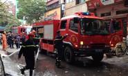 Hà Nội: Cháy trung tâm làm đẹp, nhân viên nháo nhác chạy