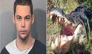 Nấp lùm trốn cảnh sát, tên trộm xui xẻo bị cá sấu ăn thịt