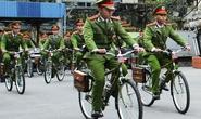 Công an Hải Phòng xuống phố cùng xe đạp chuyên dụng