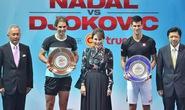 Thi đấu biểu diễn, Djokovic đánh bại Nadal ở Bangkok