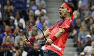 Xem Nadal thua ngược Fognini, trắng tay một mùa Grand Slam