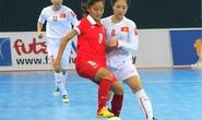 Tuyển futsal nữ Việt Nam thua ngược Trung Quốc đáng tiếc