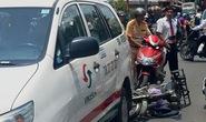 Tông móp xe taxi, thanh niên đi xe mù bị thương nặng