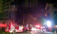 Hà Nội: Cháy cao ốc ở khu đô thị Xa La, nhiều người bị ngạt khói