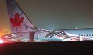 Máy bay trượt khỏi đường băng, 23 người nhập viện