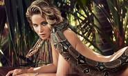 Jennifer Lawrence khỏa thân với trăn