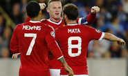Rooney lập hat-trick, Man United đè bẹp Club Brugge trên đất Bỉ