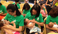 Bú mẹ giúp trẻ dễ tiêu hóa thức ăn rắn