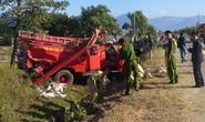 Xe chữa cháy gặp nạn, một chiến sĩ rơi khỏi xe hy sinh