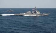 Mỹ tung khu trục hạm tuần tra vùng cấm địa tại biển Đông
