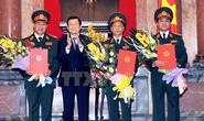 Quân đội có thêm 3 Thượng tướng