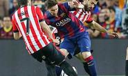 Messi đưa Barca đến gần cú ăn ba