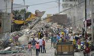 Động đất Ecuador: Số người chết tăng lên 413 người