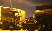 Tai nạn liên hoàn trên cầu Phú Mỹ, tài xế xe con tử nạn