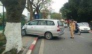 Xế hộp gây tai nạn liên hoàn trên đường Thanh Niên
