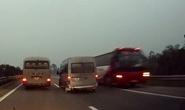 Tước bằng, phạt 8,5 triệu tài xế xe khách đi ngược chiều trên cao tốc