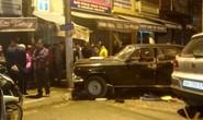 Xe biển xanh điên cuồng tông nhiều xe máy, 3 người bị thương