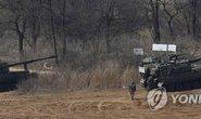 Hàn Quốc tập trận bắn đạn thật gần biên giới Triều Tiên
