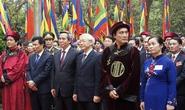 Tổng Bí thư Nguyễn Phú Trọng dâng hương giỗ tổ Hùng Vương