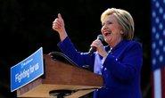 Bà Clinton chính thức cán mốc kỳ diệu