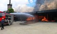 Cháy rụi nhà máy xử lý rác thải ở Thanh Hóa