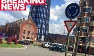 Cảnh sát Bỉ bị chém giữa ban ngày