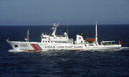 Nhật phản đối 13 tàu hải cảnh Trung Quốc vào gần Senkaku