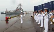 Tàu hải quân Mỹ thăm Trung Quốc sau phán quyết biển Đông