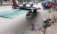 Vụ bé trai bị tôn cứa cổ tử vong: Tạm giữ người lái xích lô