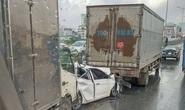 Tai nạn liên hoàn, đường trên cao ùn tắc hàng chục km